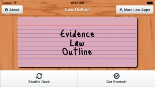 evidence outline View notes - evidence_outline from evidence 101 at notre dame evidence outline relevance a in general fre 401: relevant evidence' means evidence having any tendency to make the existence of any.