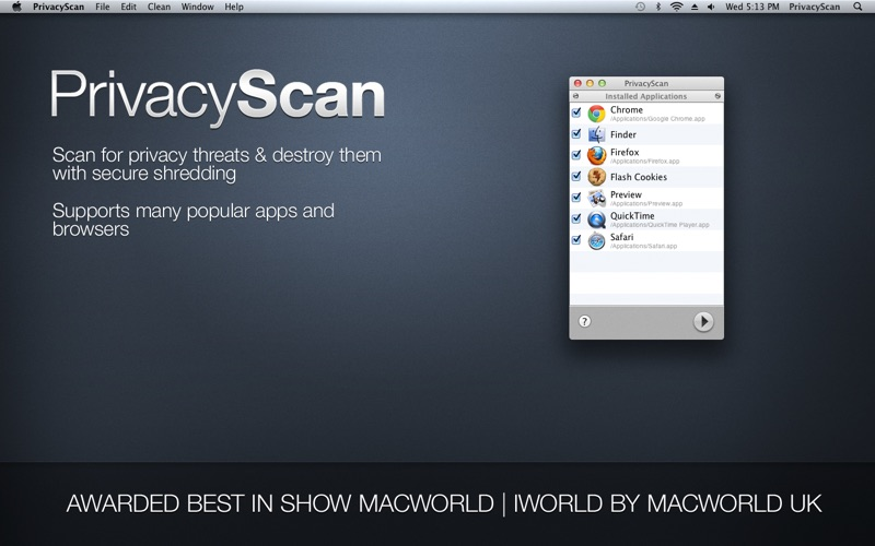 PrivacyScan Screenshots