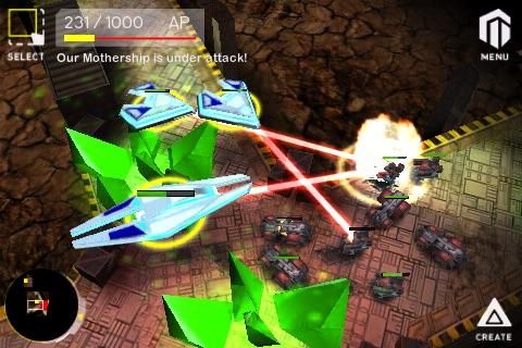 Armada - Galactic War Online screenshot 4