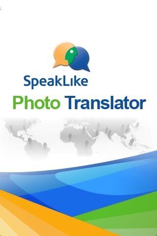 Screenshot von SpeakLike Photo Translator4