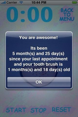 Toothbrush Timer screenshot 4