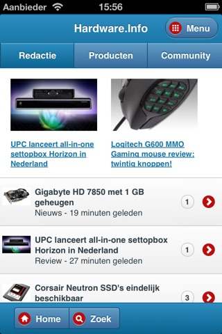 Hardware.Info Web App screenshot 1
