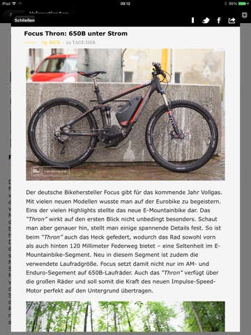 Velomotion App - Magazin screenshot 3