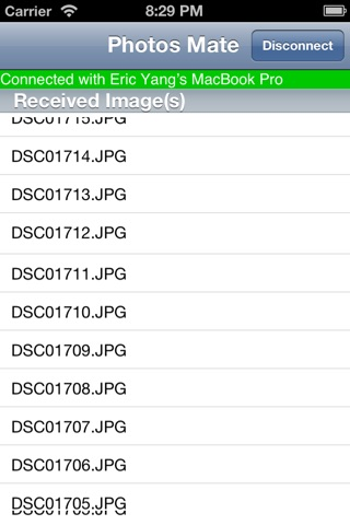 Photos Mate (Transfer photos from Mac to iOS device wirelessly) screenshot 2