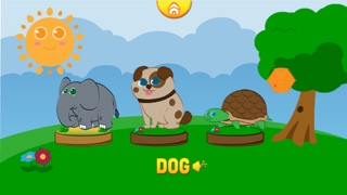 Screenshots of Funny Animals for baby and preschool toddler - Play and learn for iPhone