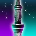 Night SkyTree - the lighting designer clock FREE