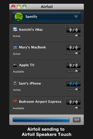 Airfoil Speakers Touch screenshot 3