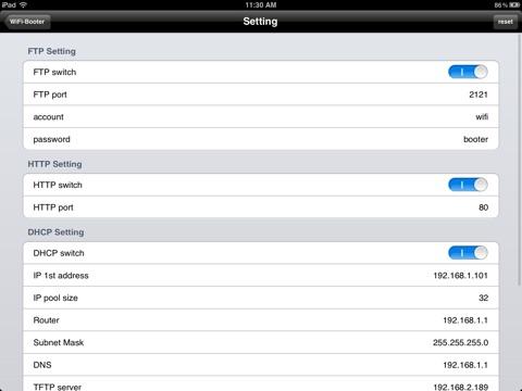 WiFi Booter Screenshot