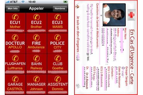 ICE, In Case of Emergency screenshot 1