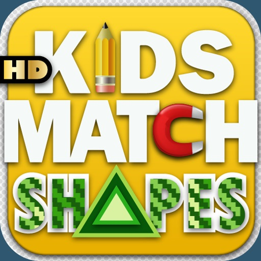 Kids Match Shapes HD iOS App