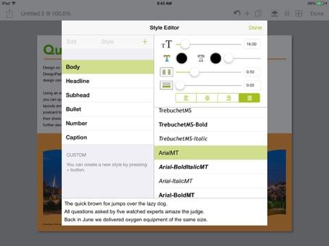 iPad — zrzut ekranu 4