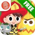 Big Kid Life: Firefighter Free - Preschool Learn & Play - A Fingerprint Network App icon