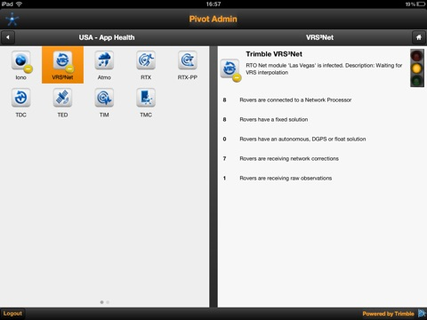 Pivot Admin for iPad screenshot 3