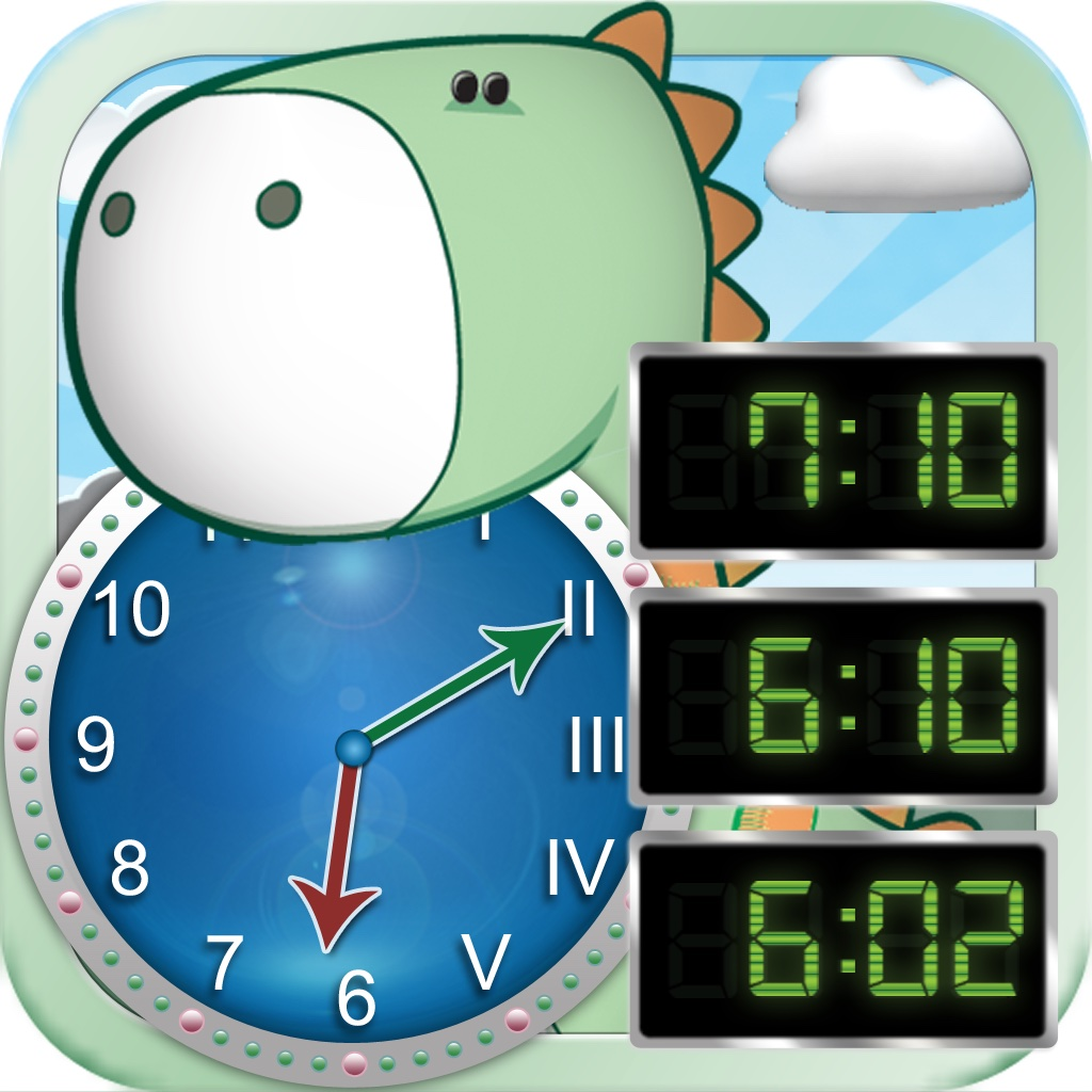 Tick Tock Clock - Learn How to Tell Time Using Digital and Analog Clock with Roman and Arabic Numerals