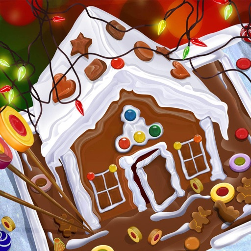Christmas room decoration game for kids iOS App