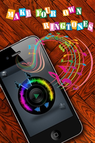 Ringtones Maker - Make Ringtones from your Music Library Скриншоты3