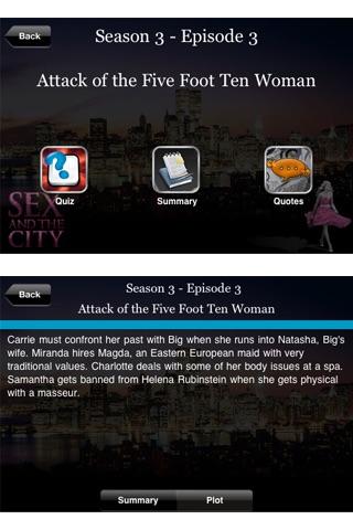 Sex and the City Fan App screenshot1