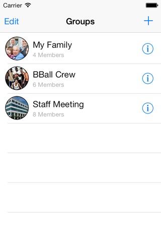 GroupMail - Group E-mails screenshot 1