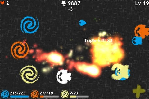 Finger Magic Defence screenshot 1