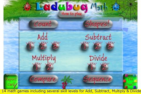 Ladybug Math screenshot 1