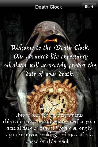 Death Clock - When Are You Going To Die? screenshot 1