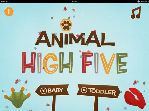 Animal High Five - iPad Preview