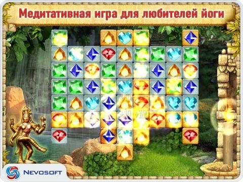 Скачать Долина Богов: головоломка три в ряд