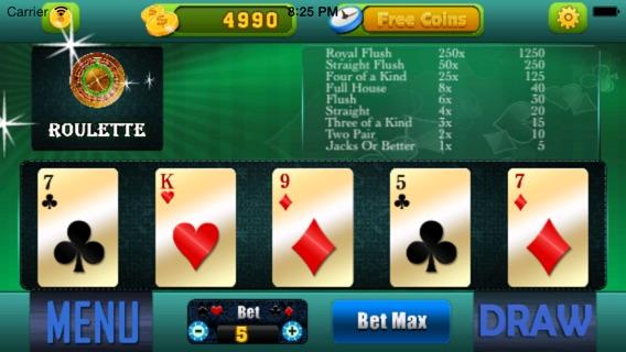 5 card stud online free