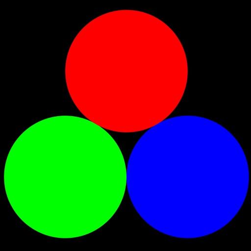 Additive Farbmischung RGB iOS App