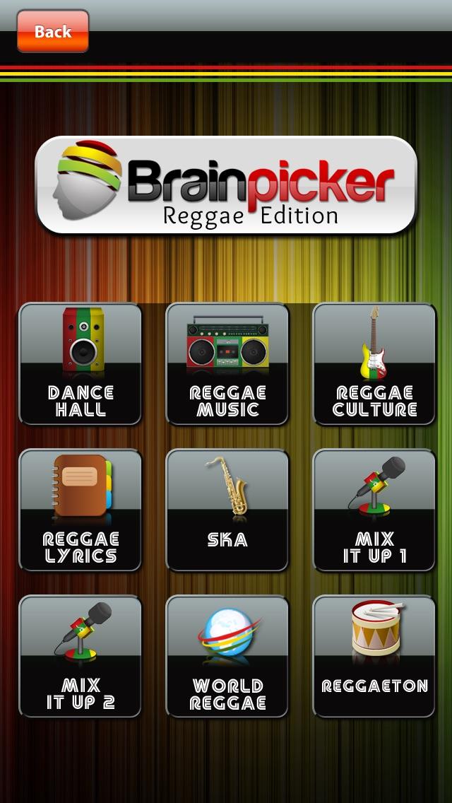 BrainPickerクイズ:レゲエ版 screenshot1
