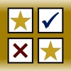 Gold Stars & Check Marks: Tap to Track Daily Goals and Habits