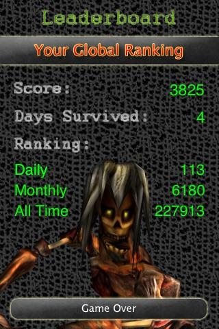 Zombie Invasion screenshot two