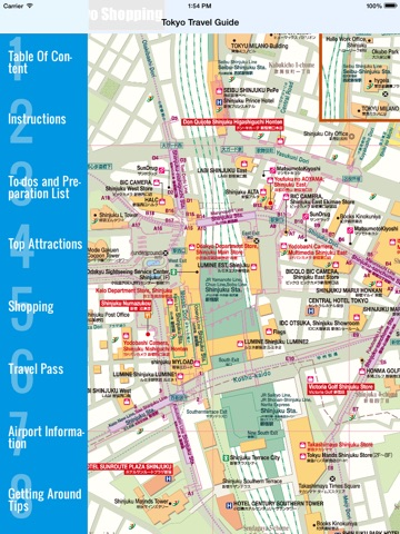 Tokyo Travel Guide And Offline Map Tokyo Metro Tokyo Subway - Japan map lonely planet