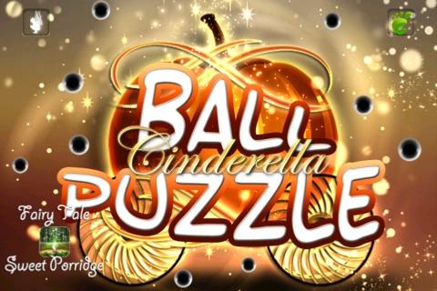 Ball Puzzle Cinderella - Imagination Stairs - ball game app screenshot 1