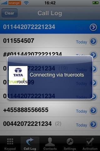Screenshot of trueroots from Tata Communications