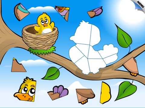 Abby Monkey® Animal Shape Puzzle for Preschool Kids: Meadow screenshot 2