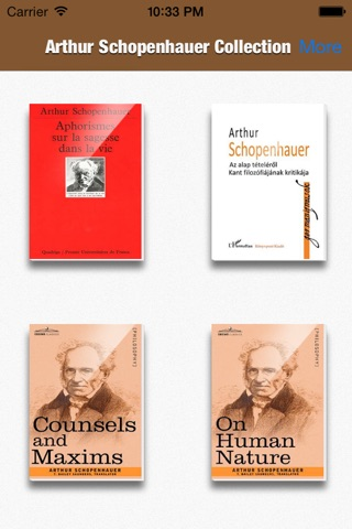 The Arthur Schopenhauer Collection screenshot 1