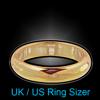 UK / US Ring Sizer
