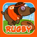 Space Dog Rugby © icon