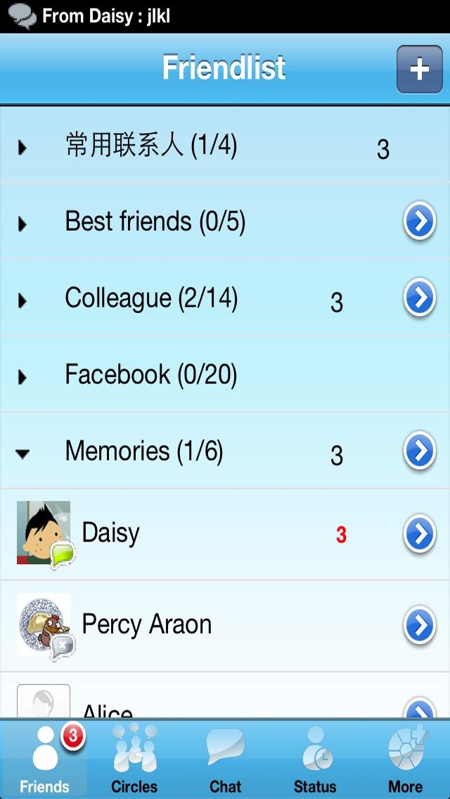 Live Messenger Pro Screenshot 2