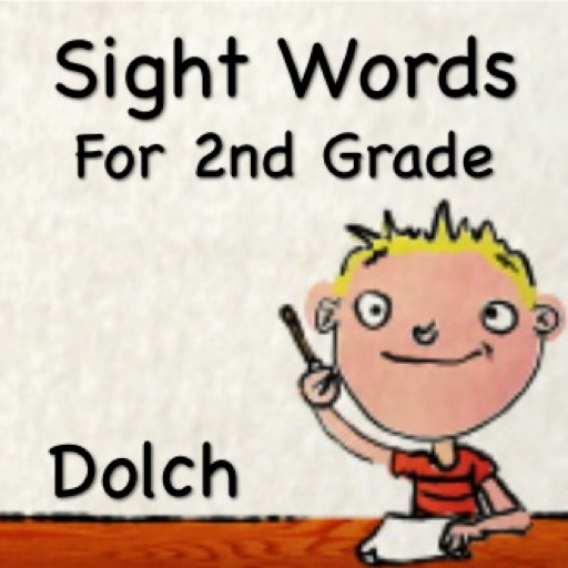 Sight Words For 2nd Grade - Talking Flash Cards iOS App