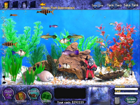 Fish Tycoon for iPad на iPad