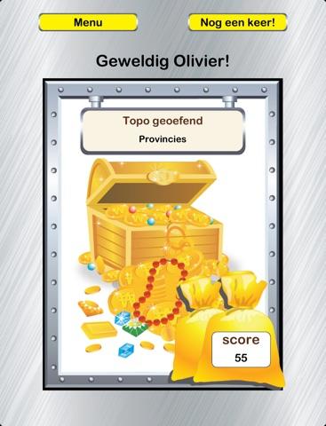 Topokluis - de leukste game om topo te oefenen! Screenshot