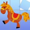 Horse Puzzles for girls: jigsaw puzzle fun with many different horses