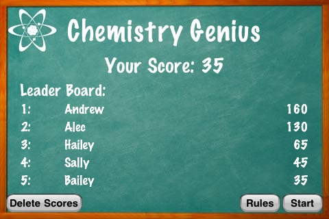 Chemistry genius periodic table flash cards by funvid apps llc chemistry genius periodic table flash cards screenshot 4 urtaz Choice Image