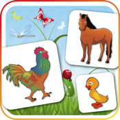 Farm Flip Fun – Memory Match Animals