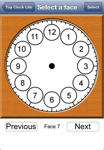 Toy Clock Lite screenshot 3