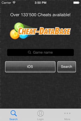 Cheat-Database screenshot 1