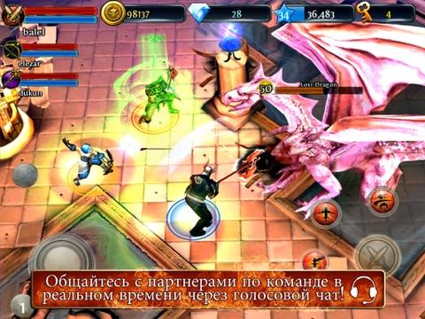 Dungeon Hunter 3 Скриншоты9