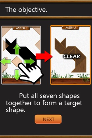 Tans Block Free - Simple Classic Tangram Puzzle Game screenshot 4
